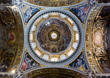 The dome of Santa Maria La Maggiore Royalty Free Stock Image