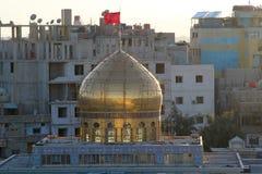 Dome of Sayeda Zeinab shrine in Syria Stock Photo