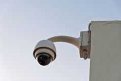 Dome security camera Royalty Free Stock Photo