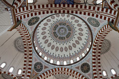 Dome of the Sehzade Mosque. Istanbul, Turkey Stock Photo
