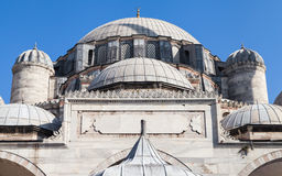 Dome of Sehzade Mosque. In Istanbul, Turkey Stock Photography
