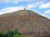 Dome shaped hill, Navajo Nation, Arizona Royalty Free Stock Photography