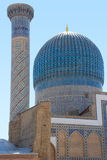 Dome of the Sher-Dor in Samarkand stock photography