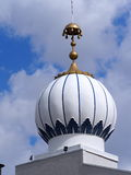 Dome On Sikh Temple Royalty Free Stock Image