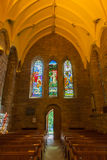 Dome of small Scottish cathedral Stock Images