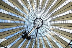 Dome of the Sony Center, Berlin Royalty Free Stock Images