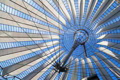 Dome of the Sony Center Stock Photography
