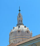 Dome, spires and cloudless sky Stock Photography