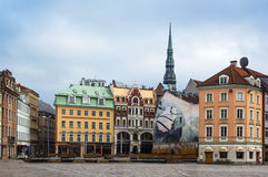 Dome square, Riga Stock Image