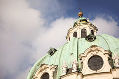Dome of St. Charles church in Vienna Stock Images