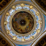 Dome of St. Isaac`s Cathedral royalty free stock image