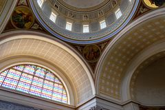 Dome of St. Nicholas` Church. It is a Lutheran church in Potsdam, Germany stock image