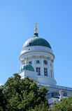 THE DOME OF ST.NICHOLAS IN HELSINKI Stock Photography