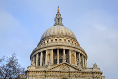 Dome of St Paul cathedral Royalty Free Stock Photos
