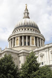 The dome of st paul's Royalty Free Stock Photos