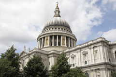 The dome of st paul's Royalty Free Stock Photo