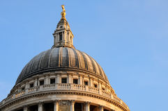 Dome of St. Paul's cathedral Stock Image