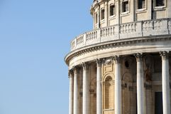 The dome of St Pauls Cathedral Royalty Free Stock Images