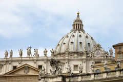 Dome of St Peter's Basilica Stock Photos