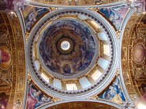Dome of St Peter's Basilica Stock Photography
