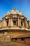 The dome of St. Peter`s Basilica, Vatican Stock Photography