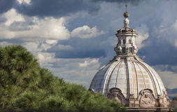 Dome St. Peter's Basilica vatican Royalty Free Stock Photos