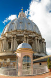 Dome of St. Peter's Basilica, Vatican Royalty Free Stock Photo