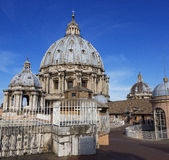 Dome, St. Peter`s,  Vatican, Rome, Italy Stock Photo