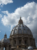 Dome of St Peters. In Vatican City Royalty Free Stock Image