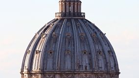Rome St.Peters Basilica stock video
