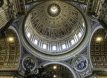 Dome of St Peters Royalty Free Stock Photography