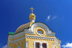 Dome of St. Sergius of Radonezh temple, Ukraine Stock Photo