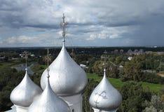 Dome of St. Sophia Cathedral in Vologda Stock Photo