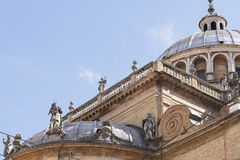 Dome of the Steccata in Parma Stock Photo