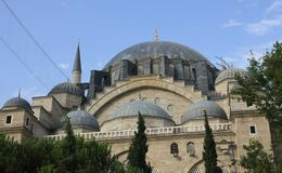 Dome of Suleymaniye Mosque, Istanbul Stock Photos