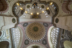 Dome of The Suleymaniye Mosque Royalty Free Stock Image