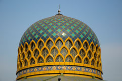 Dome of Sultan Abdul Samad Mosque (KLIA Mosque) Royalty Free Stock Image