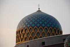 Dome of Sultan Abdul Samad Mosque (KLIA Mosque) Stock Photo