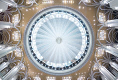 Dome of Sultan Mizan Mosque Royalty Free Stock Image