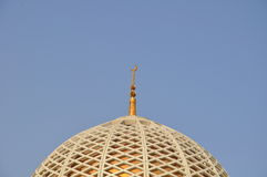 Dome of the Sultan Qaboos Grand Mosque Royalty Free Stock Images
