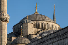 Dome of the Sultanahmet Mosque Stock Photo