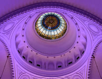 Dome of the synagogue inside, Novi Sad, Serbia Royalty Free Stock Photography
