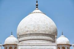 Dome of Taj Mahal Royalty Free Stock Photo