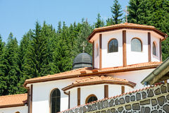 The dome of the temple in the monastery of Saint Panteleimon Royalty Free Stock Image
