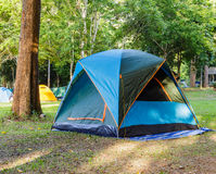 Dome tent for camping Stock Photo