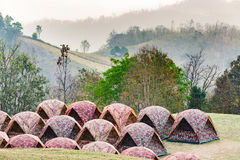 Dome tents Royalty Free Stock Photos
