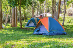 Dome tents Stock Images