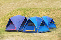 Dome tents Royalty Free Stock Photography