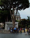 Dome to St. Peter's Basilica, Vatican City, Italy. Stock Images