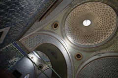 Dome in Topkapi Palace, Istanbul, Turkey. Stock Photography